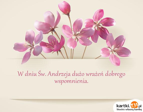 <a href=http://zyczenia.tja.pl/andrzejki title=W dniu Św. Andrzeja>W dniu Św. Andrzeja</a> dużo wrażeń dobrego wspomnienia.